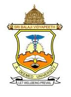 Sri Balaji Vidyapeeth University